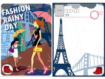 法國都會風明信片-3Phone