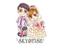 Q版婚禮肖像-yamayu
