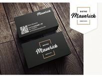 Maverick商標設計、名片設計(競標作品)-Dazzle Studio